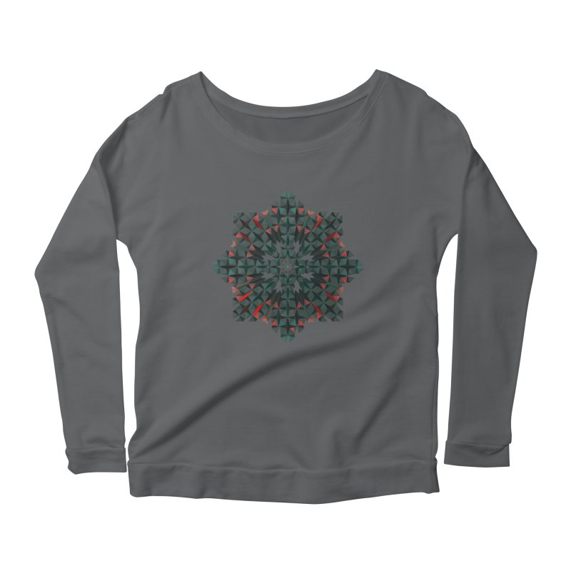Crucible Women's Longsleeve Scoopneck  by Obvious Warrior Artist Shop