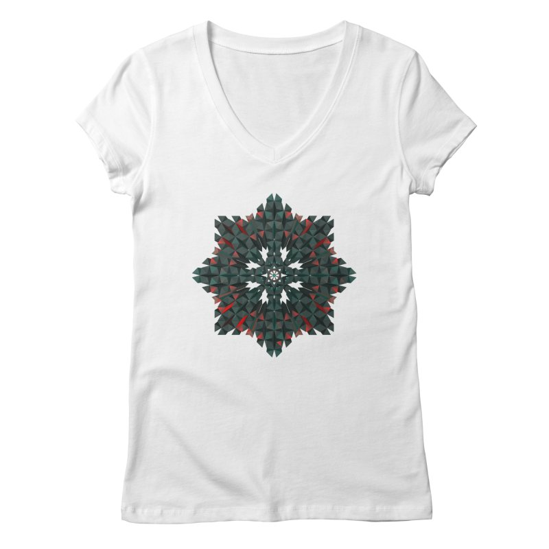 Crucible Women's V-Neck by Obvious Warrior Artist Shop