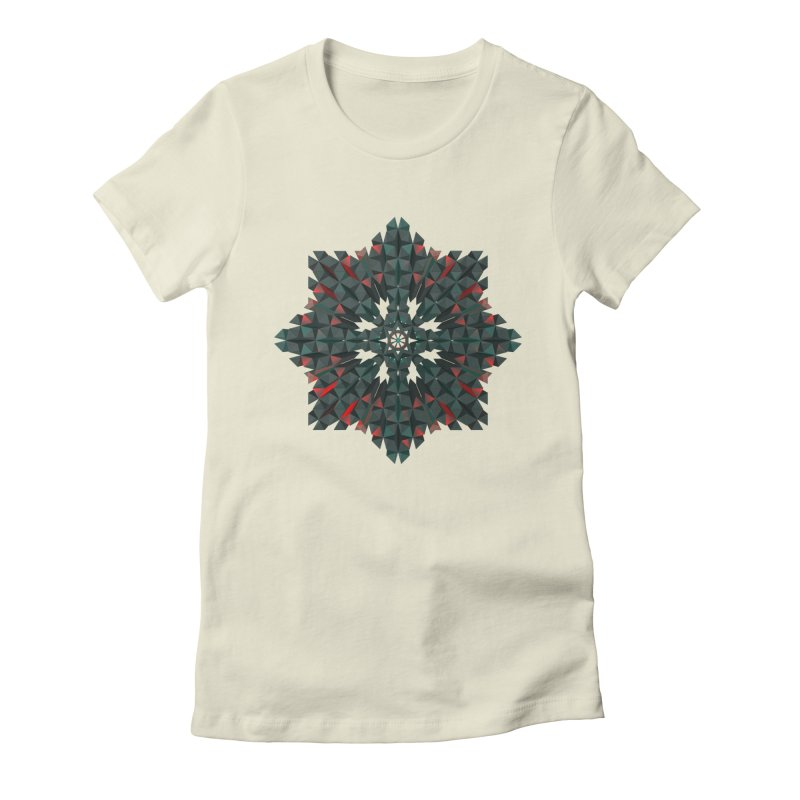 Crucible Women's Fitted T-Shirt by Obvious Warrior Artist Shop