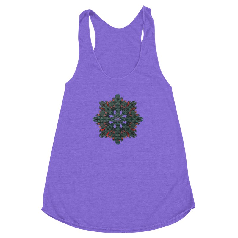 Crucible Women's Racerback Triblend Tank by Obvious Warrior Artist Shop