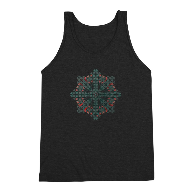 Crucible Men's Triblend Tank by Obvious Warrior Artist Shop