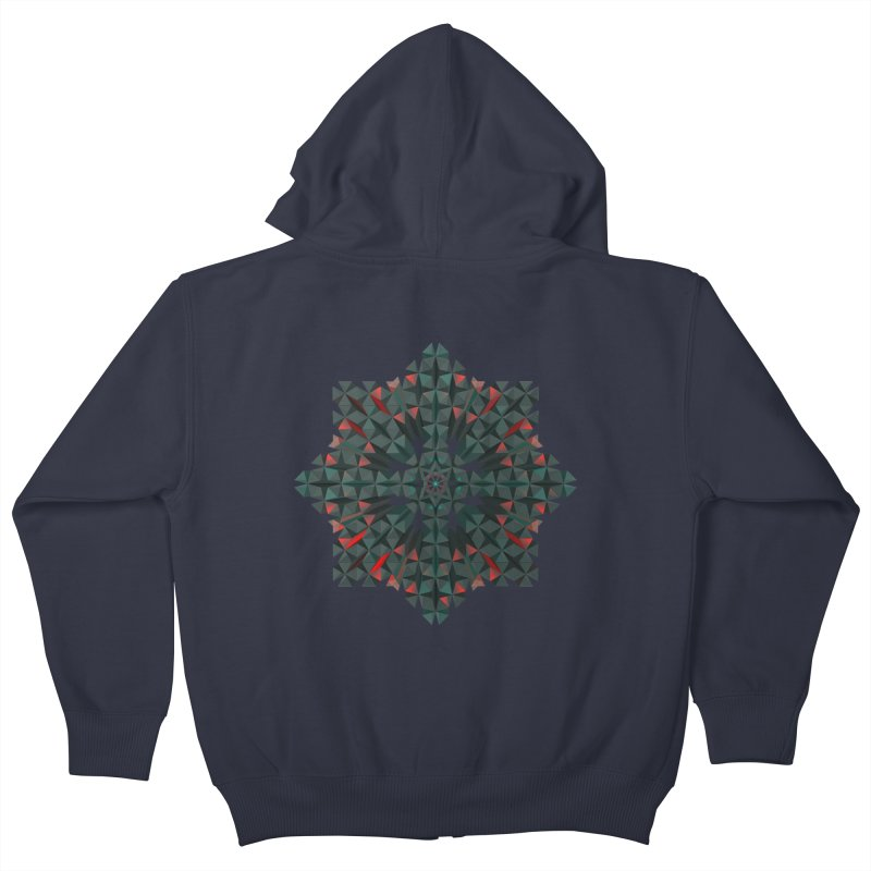 Crucible Kids Zip-Up Hoody by Obvious Warrior Artist Shop