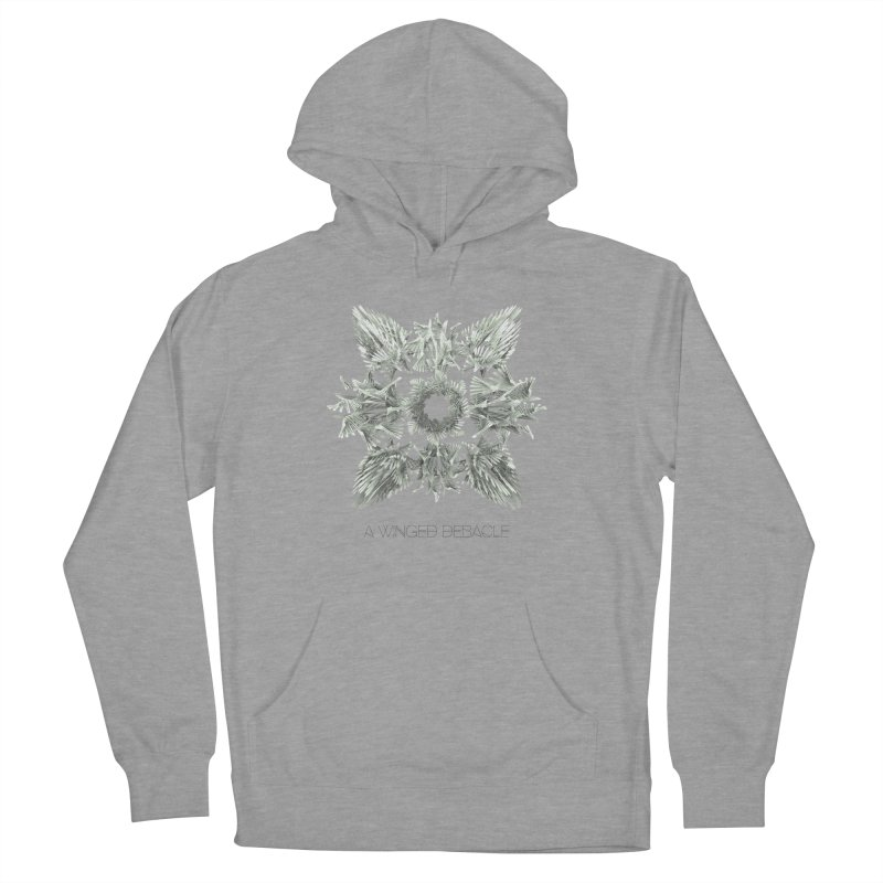 A Winged Debacle Women's Pullover Hoody by Obvious Warrior Artist Shop