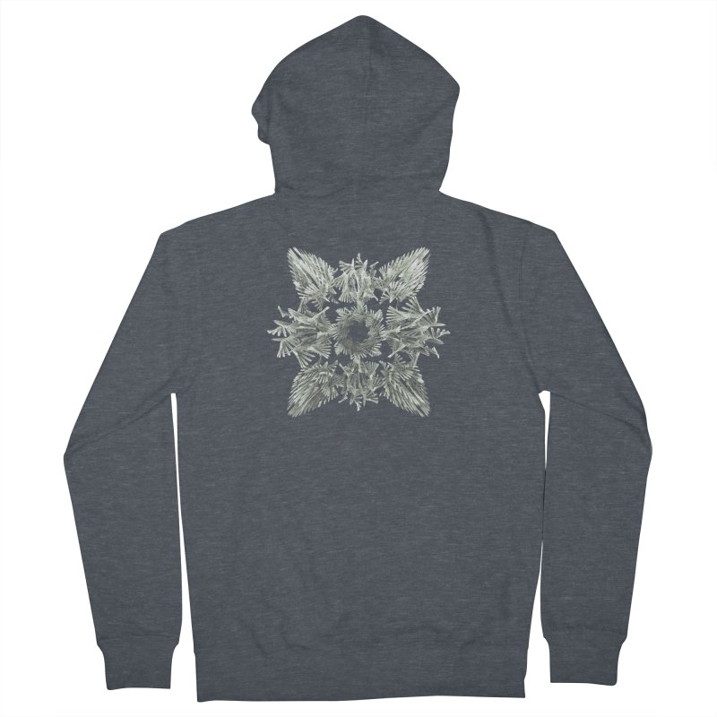 A Winged Debacle Women's Zip-Up Hoody by Obvious Warrior Artist Shop