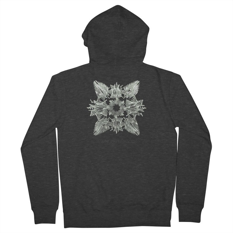 A Winged Debacle Men's Zip-Up Hoody by Obvious Warrior Artist Shop
