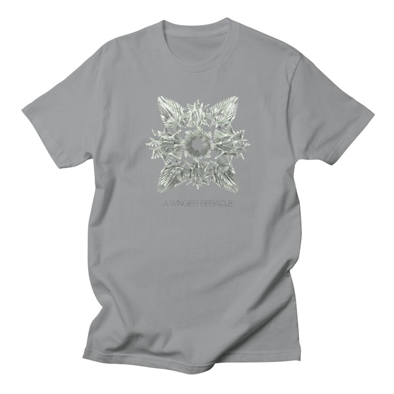 A Winged Debacle Men's T-shirt by Obvious Warrior Artist Shop
