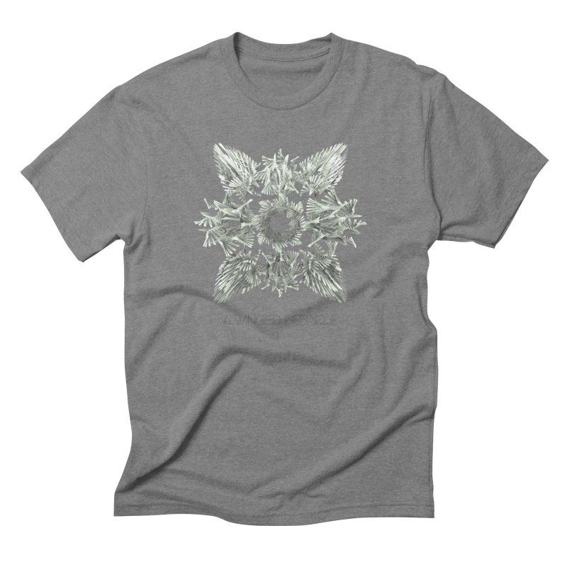 A Winged Debacle Men's Triblend T-shirt by Obvious Warrior Artist Shop