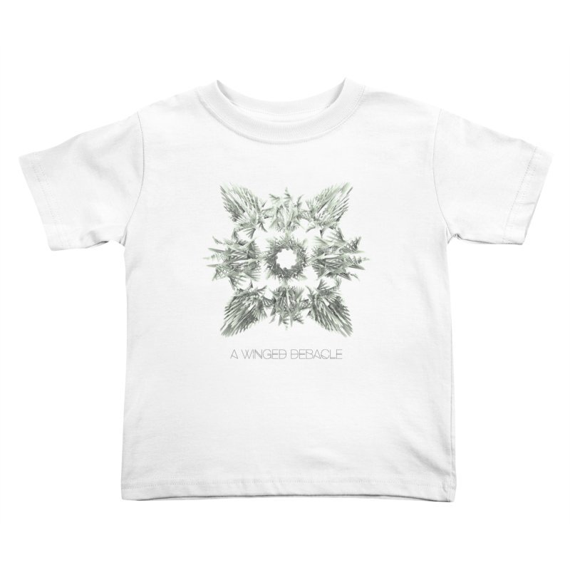 A Winged Debacle Kids Toddler T-Shirt by Obvious Warrior Artist Shop