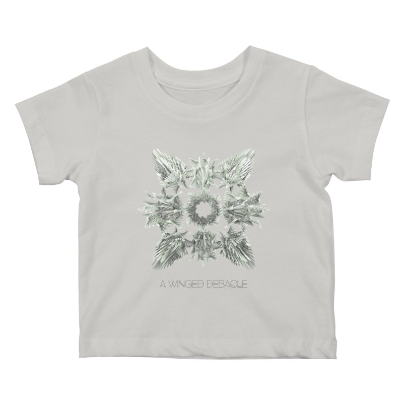A Winged Debacle Kids Baby T-Shirt by Obvious Warrior Artist Shop