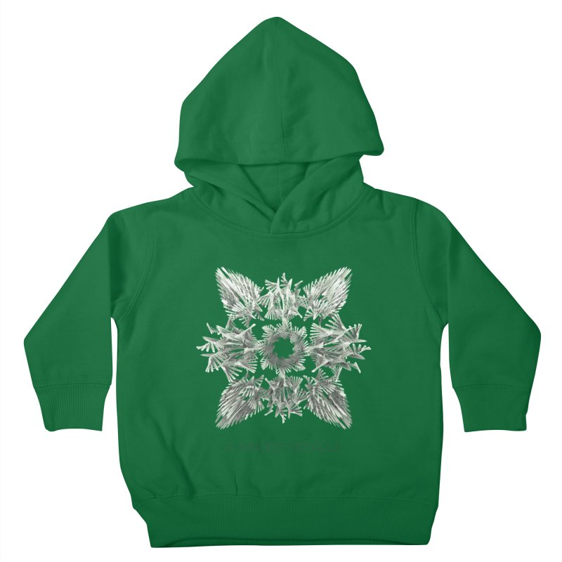 A Winged Debacle Kids Toddler Pullover Hoody by Obvious Warrior Artist Shop