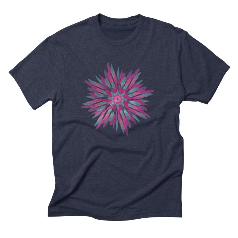 Bloom Men's Triblend T-shirt by Obvious Warrior Artist Shop