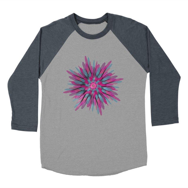 Bloom Women's Baseball Triblend T-Shirt by Obvious Warrior Artist Shop