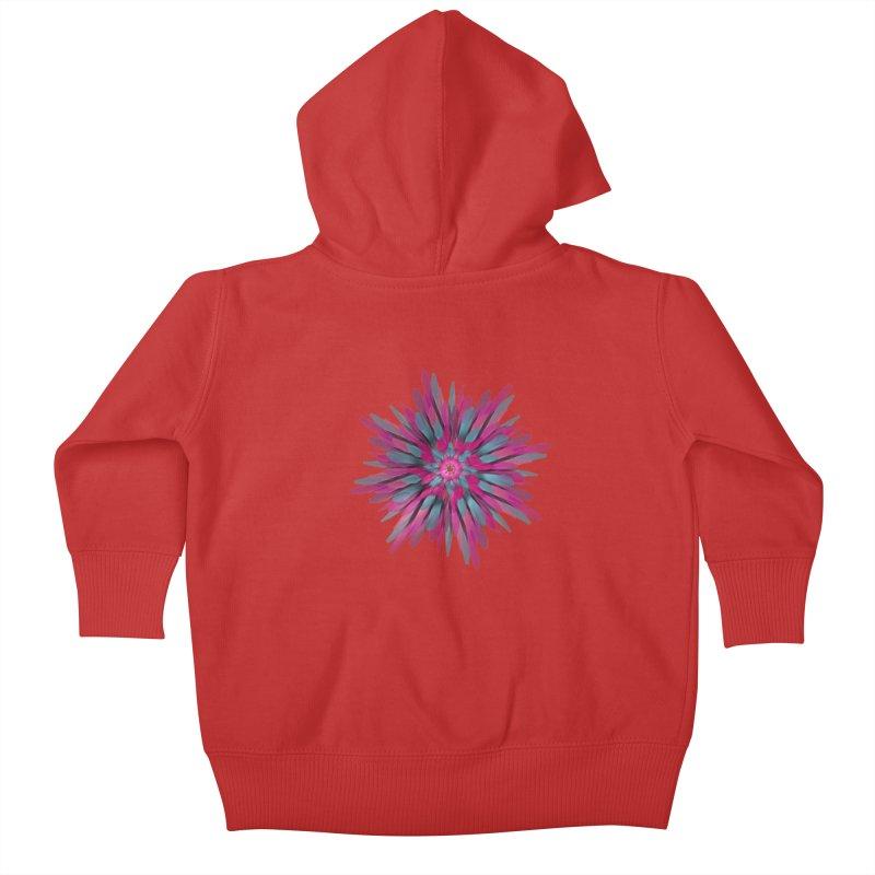 Bloom Kids Baby Zip-Up Hoody by Obvious Warrior Artist Shop