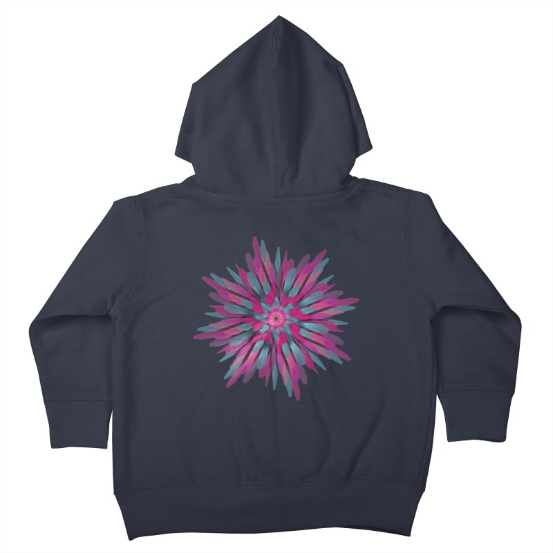Bloom Kids Toddler Zip-Up Hoody by Obvious Warrior Artist Shop