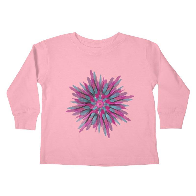 Bloom Kids Toddler Longsleeve T-Shirt by Obvious Warrior Artist Shop