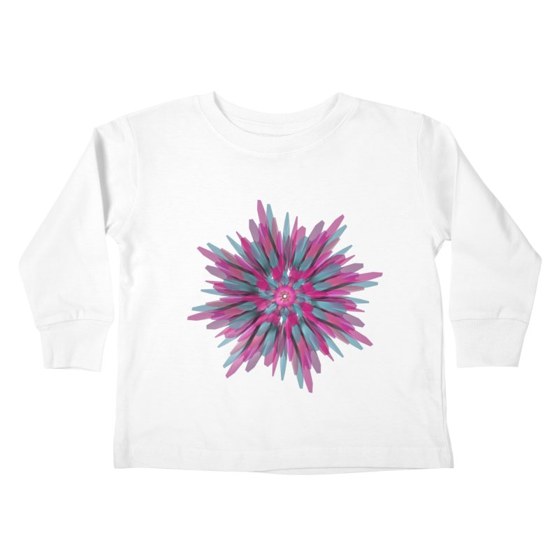 Bloom Kids Toddler Longsleeve T-Shirt by Obvious Warrior Artist Shop