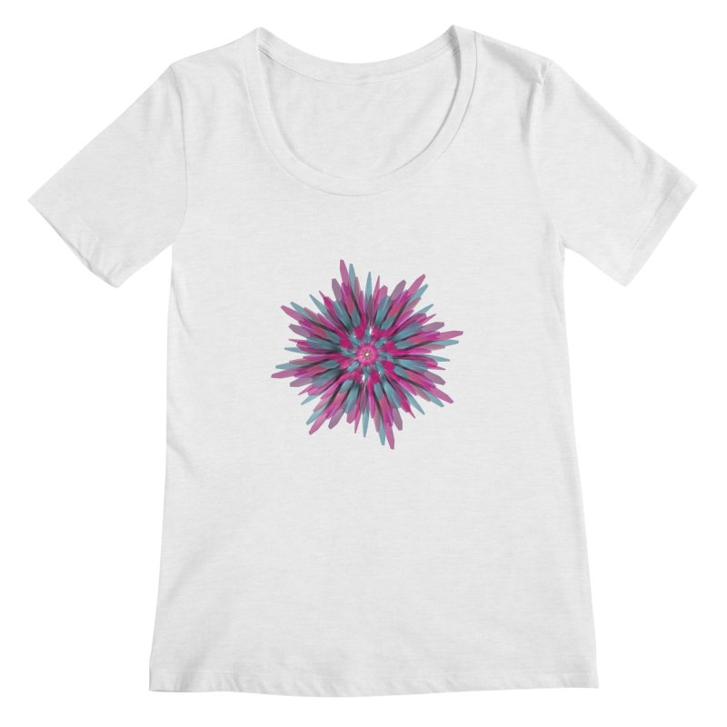 Bloom Women's Scoopneck by Obvious Warrior Artist Shop
