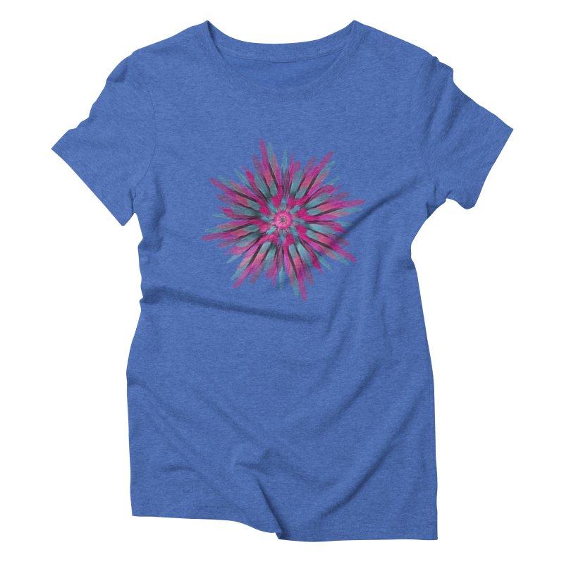 Bloom Women's Triblend T-Shirt by Obvious Warrior Artist Shop