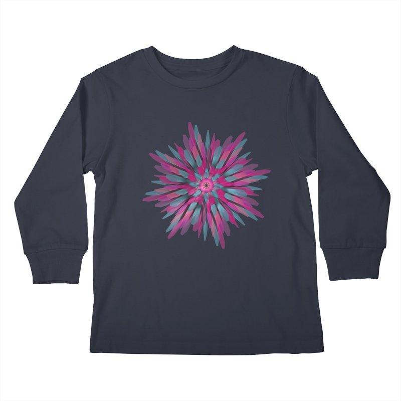 Bloom Kids Longsleeve T-Shirt by Obvious Warrior Artist Shop