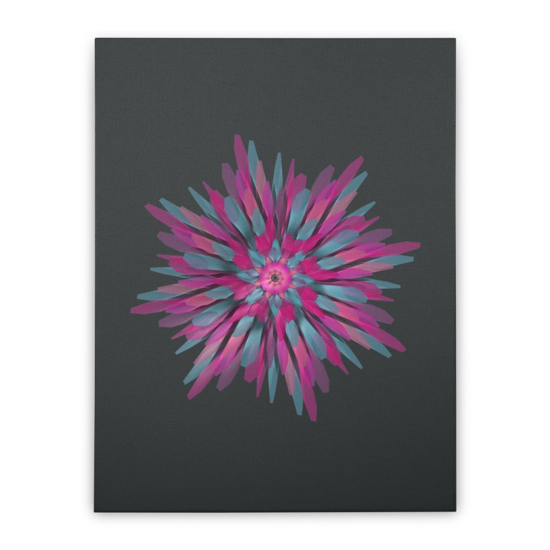 Bloom Home Stretched Canvas by Obvious Warrior Artist Shop