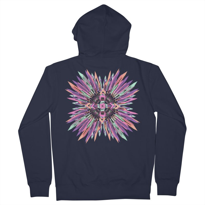 MNFLD Women's Zip-Up Hoody by Obvious Warrior Artist Shop