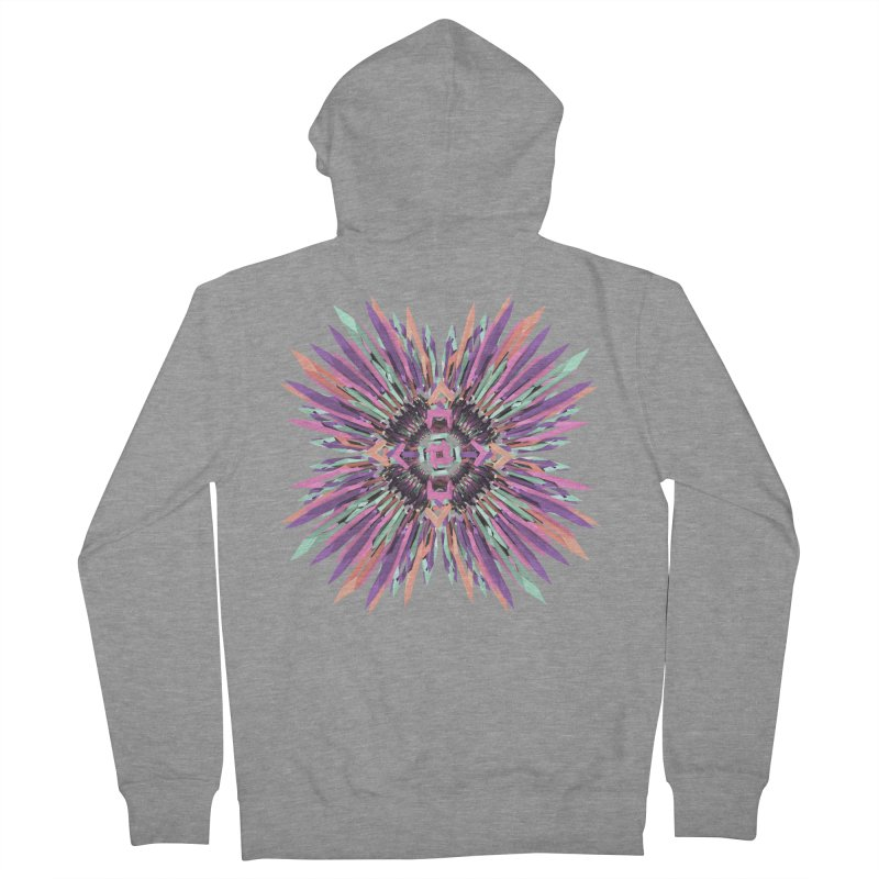 MNFLD Men's Zip-Up Hoody by Obvious Warrior Artist Shop