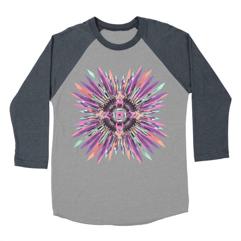 MNFLD Women's Baseball Triblend T-Shirt by Obvious Warrior Artist Shop