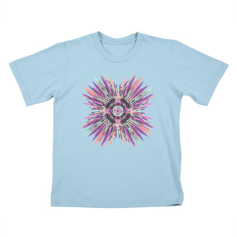 MNFLD Kids T-shirt by Obvious Warrior Artist Shop