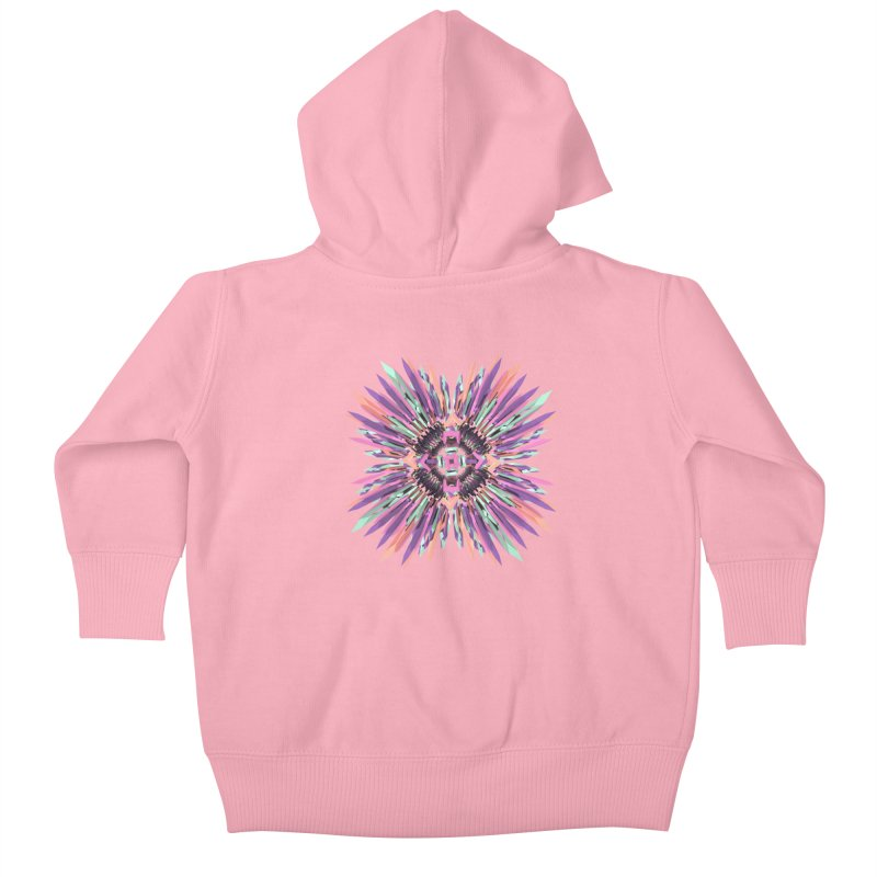 MNFLD Kids Baby Zip-Up Hoody by Obvious Warrior Artist Shop