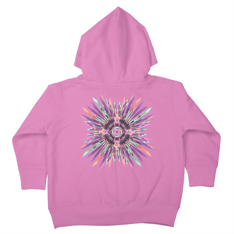 MNFLD Kids Toddler Zip-Up Hoody by Obvious Warrior Artist Shop