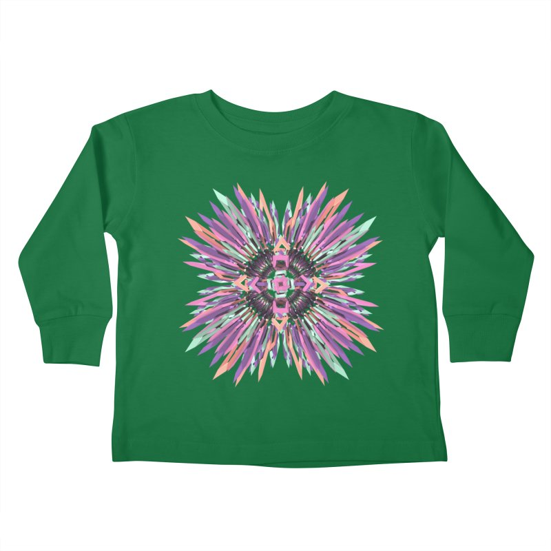 MNFLD Kids Toddler Longsleeve T-Shirt by Obvious Warrior Artist Shop