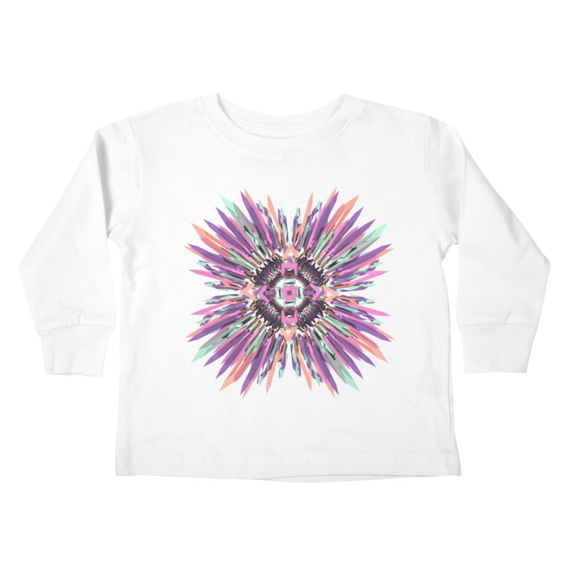 MNFLD Kids Toddler Longsleeve T-Shirt by Obvious Warrior Artist Shop
