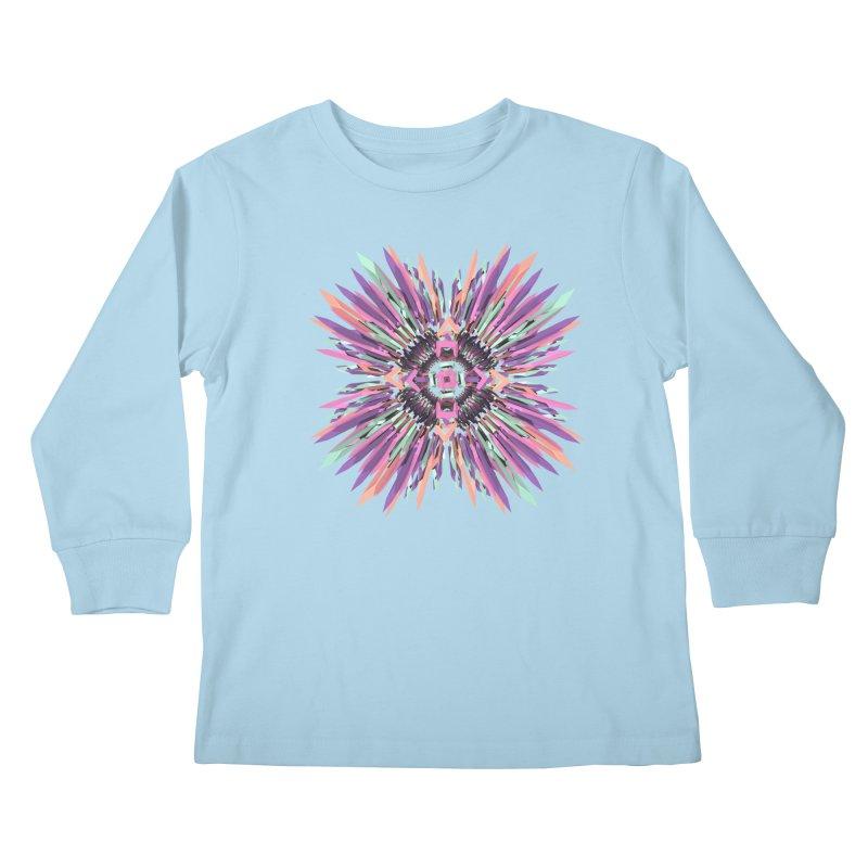 MNFLD Kids Longsleeve T-Shirt by Obvious Warrior Artist Shop