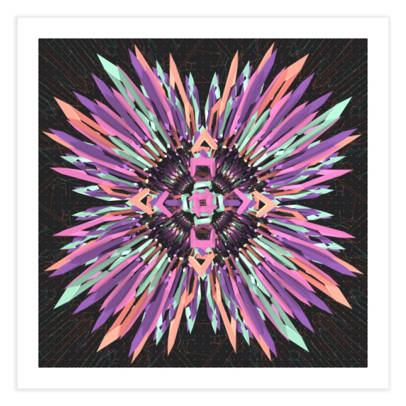 MNFLD Home Fine Art Print by Obvious Warrior Artist Shop