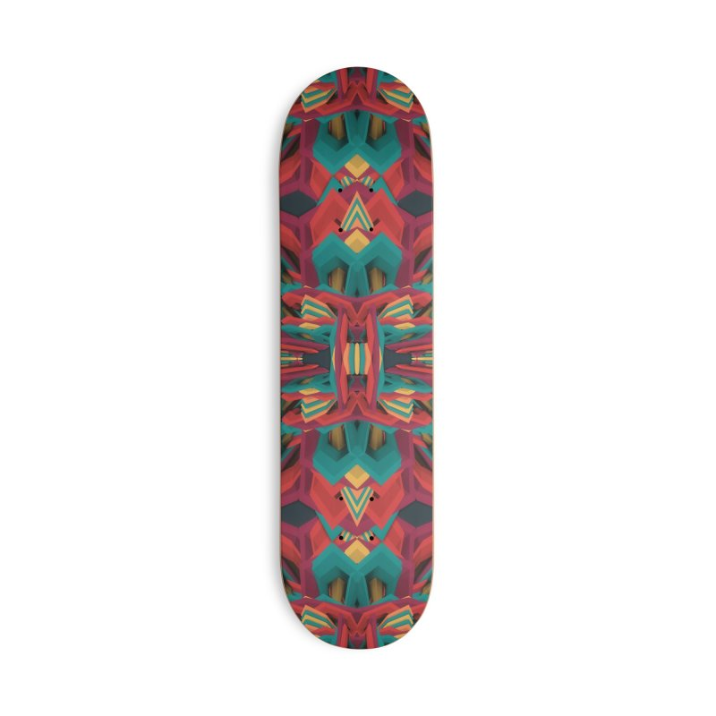 Summer Calaabachti Heart Accessories Deck Only Skateboard by Obvious Warrior