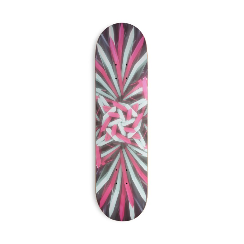 Cold Winter Con_Traption Accessories Deck Only Skateboard by Obvious Warrior