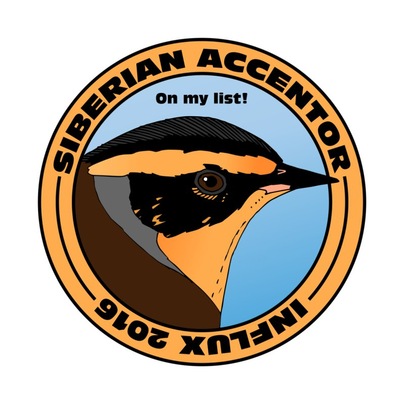 Siberian Accentor - On my list! by Oceanrunner's Artist Shop