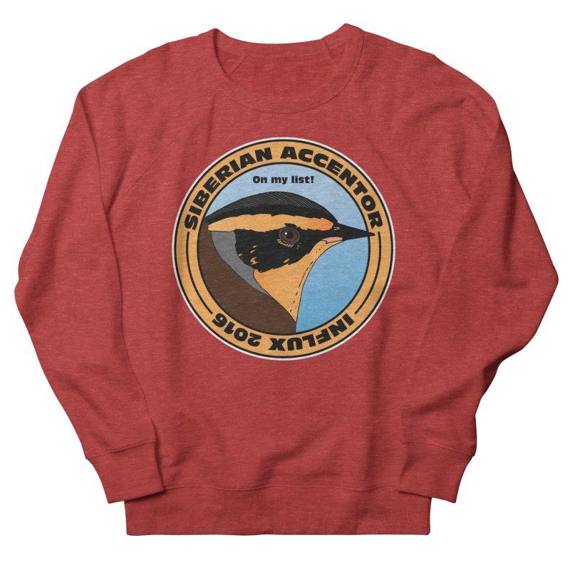 Siberian Accentor - On my list! Women's Sweatshirt by Oceanrunner's Artist Shop