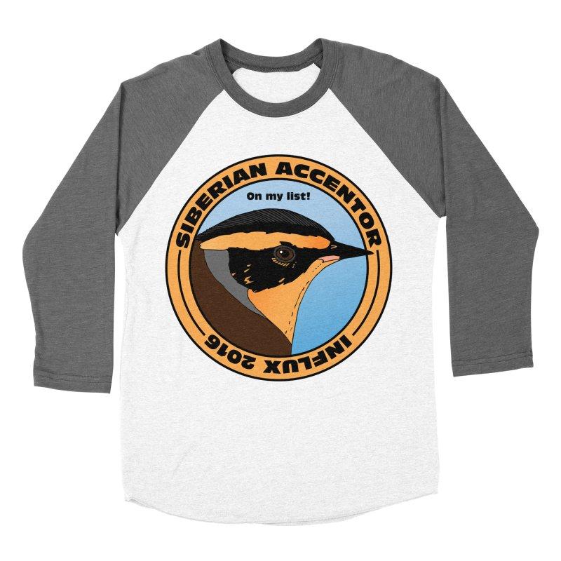 Siberian Accentor - On my list! Women's Baseball Triblend T-Shirt by Oceanrunner's Artist Shop