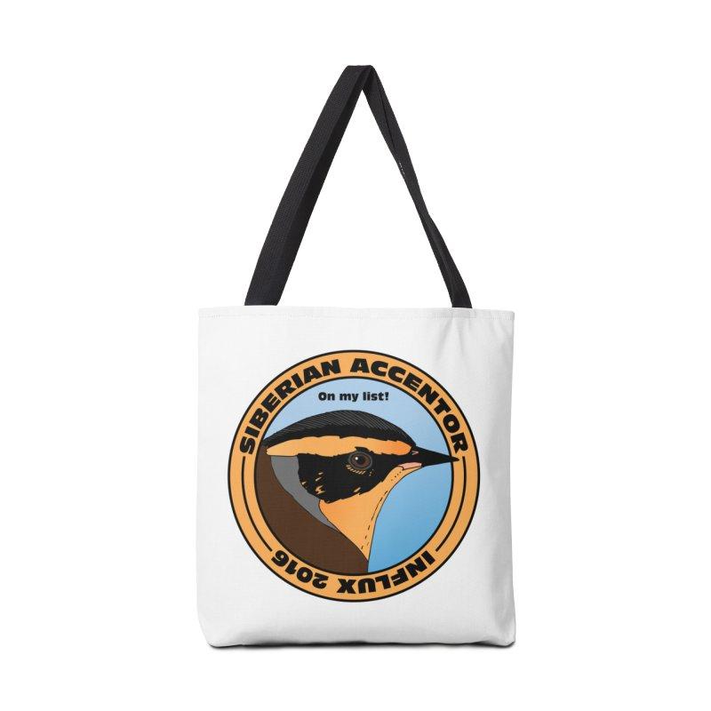 Siberian Accentor - On my list! Accessories Bag by Oceanrunner's Artist Shop