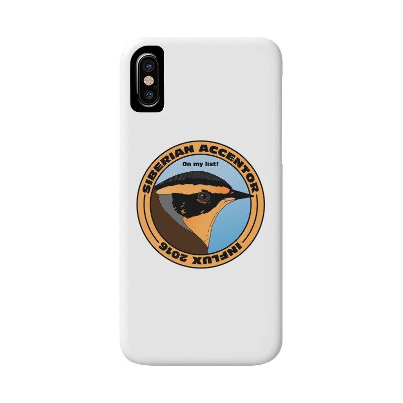Siberian Accentor - On my list! Accessories Phone Case by Oceanrunner's Artist Shop