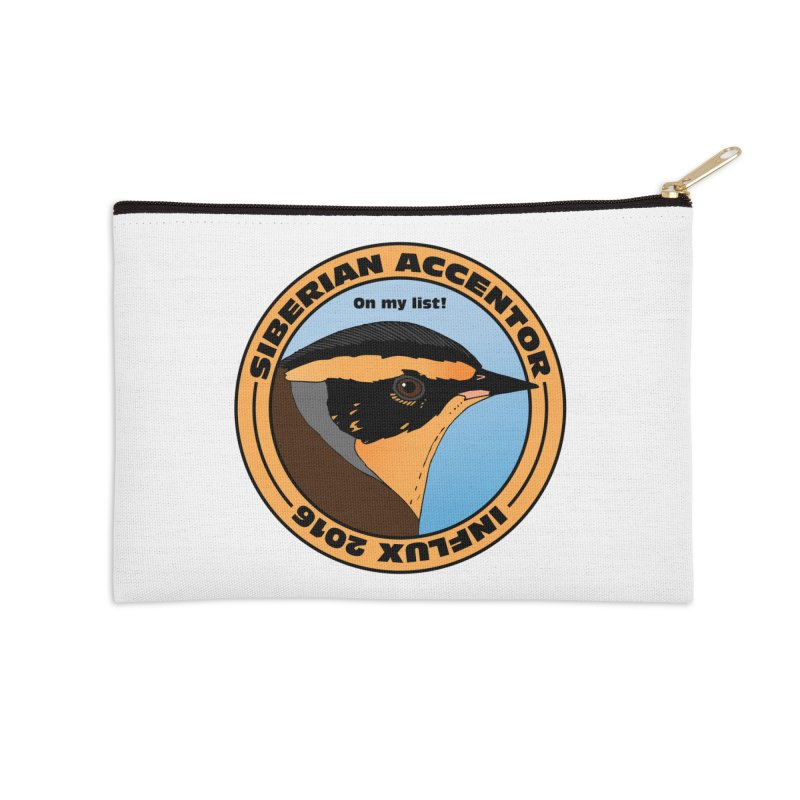 Siberian Accentor - On my list! Accessories Zip Pouch by Oceanrunner's Artist Shop