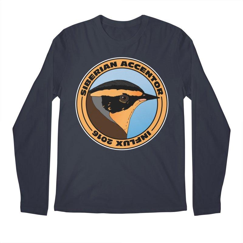 Siberian Accentor - Influx 2016 Men's Longsleeve T-Shirt by Oceanrunner's Artist Shop