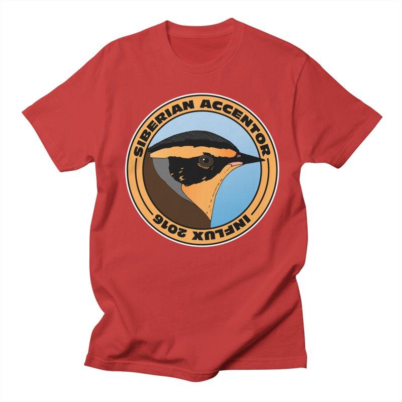 Siberian Accentor - Influx 2016 Men's T-Shirt by Oceanrunner's Artist Shop
