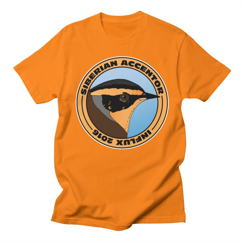 Siberian Accentor - Influx 2016 Women's Unisex T-Shirt by Oceanrunner's Artist Shop