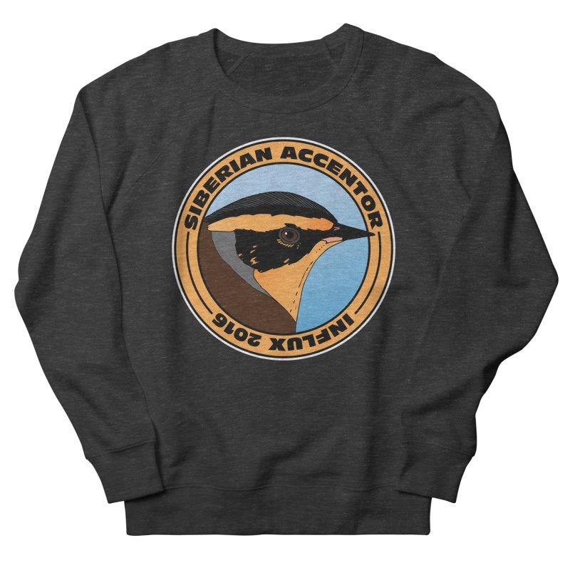 Siberian Accentor - Influx 2016 Men's Sweatshirt by Oceanrunner's Artist Shop