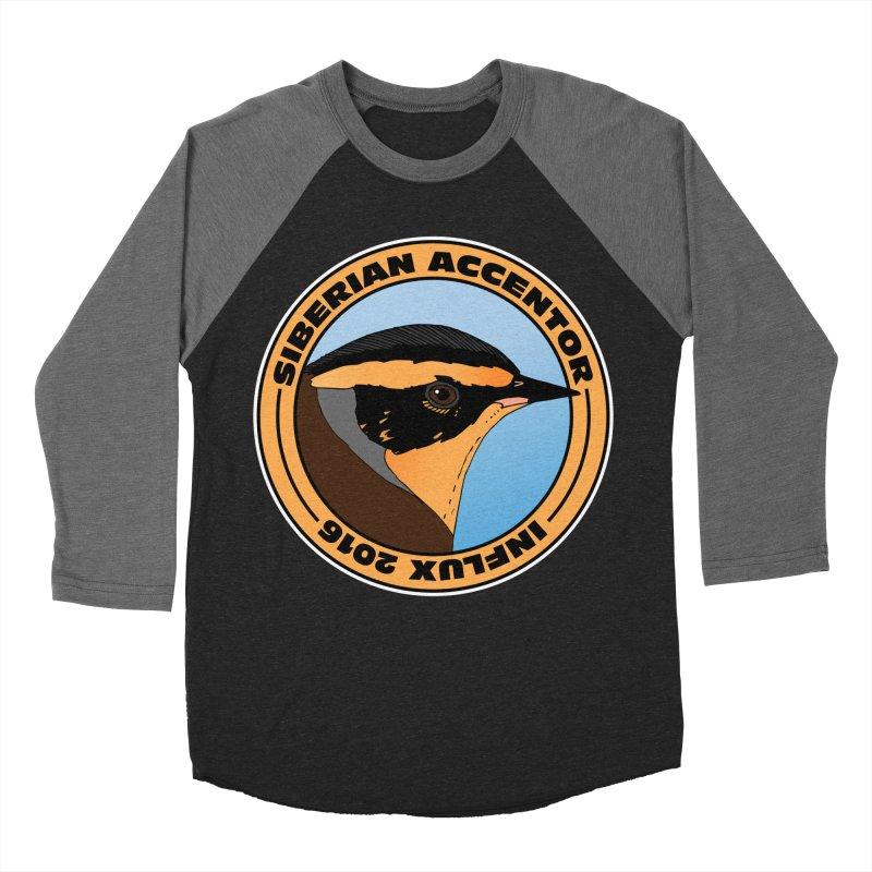 Siberian Accentor - Influx 2016 Men's Baseball Triblend T-Shirt by Oceanrunner's Artist Shop