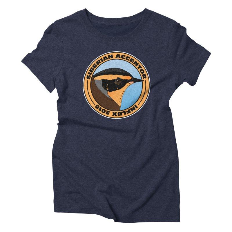 Siberian Accentor - Influx 2016 Women's Triblend T-Shirt by Oceanrunner's Artist Shop