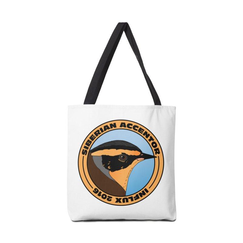 Siberian Accentor - Influx 2016 Accessories Bag by Oceanrunner's Artist Shop