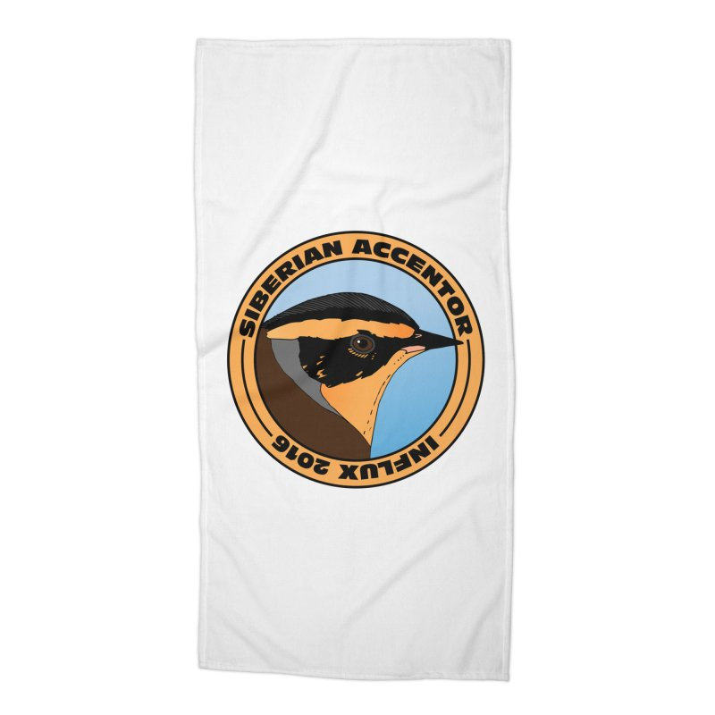 Siberian Accentor - Influx 2016 Accessories Beach Towel by Oceanrunner's Artist Shop